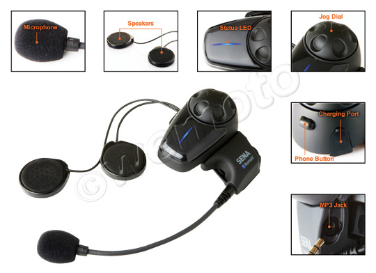 Motorcycle Bluetooth Headset and Intercom Contents