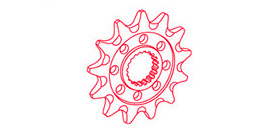 JT motorcycle sprocket