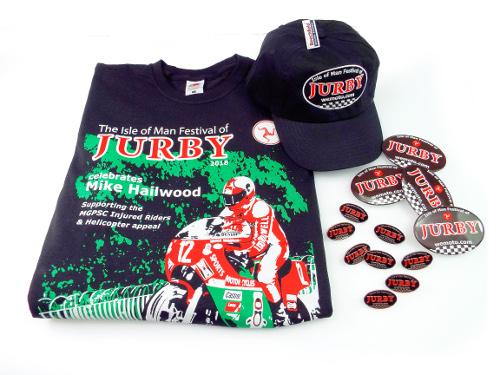 jurby merchandise