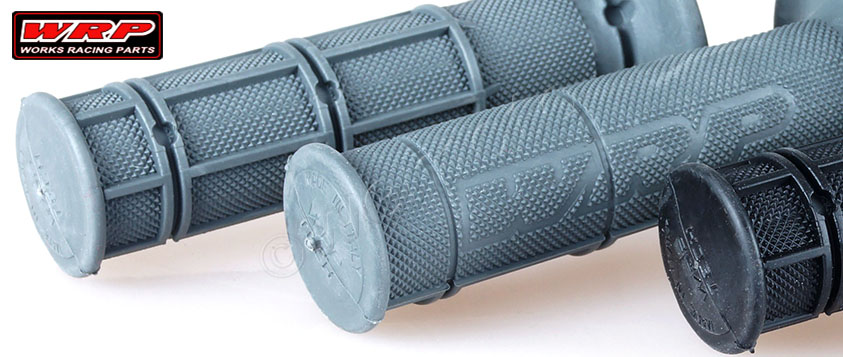 close up of waffle pattern on WRP grips
