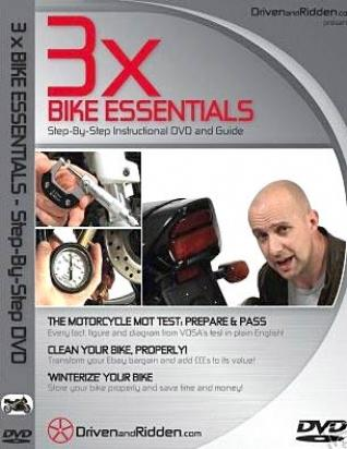 Instructional DVD- A Guide For Cleaning and UK MOT pass