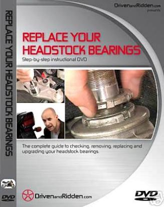 Instructional DVD- A Guide For Replacing Your Headstock Bearings