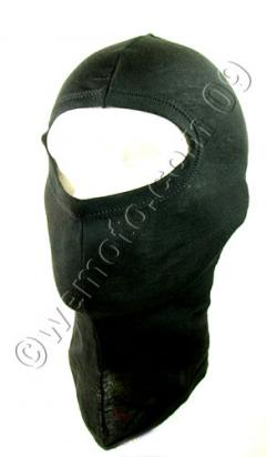 Balaclava Black  Made From  Cotton One Size Fits All