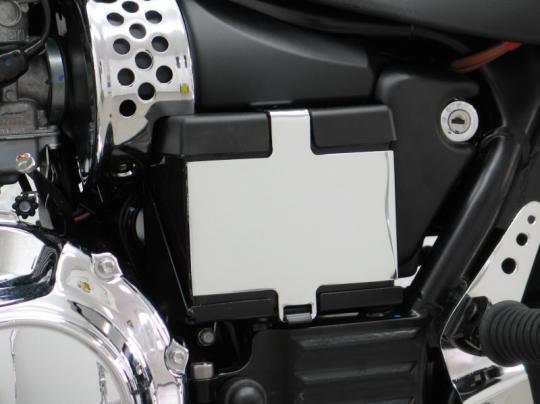Picture of Battery Box Cover Chrome Triumph America/Speedmaster