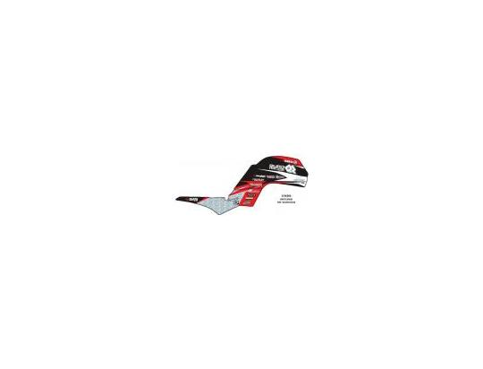 Picture of Graphic Kit Yamaha Raptor 660 - Black/Red