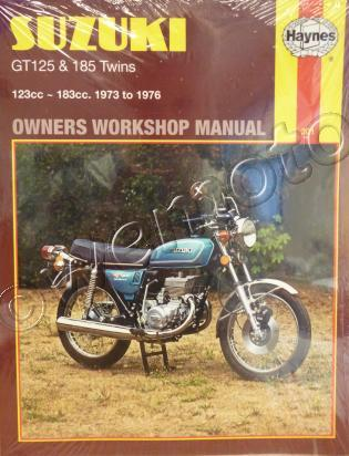 Picture of Haynes Manual - Suzuki GT125 L,M,A 74-76