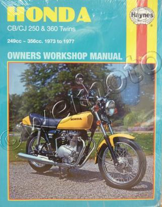 Picture of Haynes Manual - Honda CJ250T 77, CB360 G5 74-76, CJ360 T 78