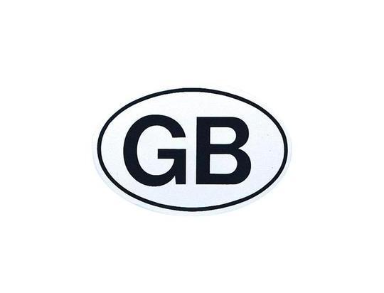 Picture of Small GB Sticker
