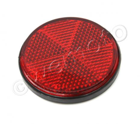 Picture of Reflector Red Rear Stick On Round 60mm OD