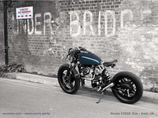 Picture of Motorcycle Retro Poster CX500 Size A1 594 x 841mm