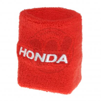 Brake Reservoir Sock Shroud Honda Red
