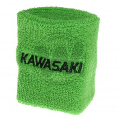 Picture of Brake Reservoir Sock Shroud Kawasaki Green