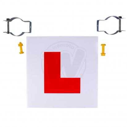 Picture of Learner L Plates Rigid  Including Clamp and Screws