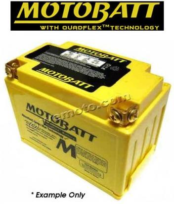 Picture of Kawasaki ER-6 N B8F (ABS) 08 Battery Motobatt Sealed High Torque