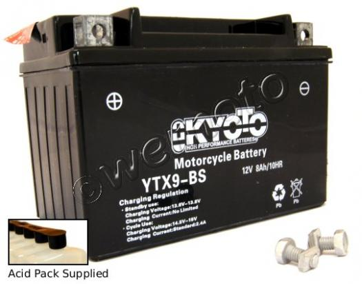 Picture of Suzuki LT-Z 250 K9 Quadsport 09 Battery Kyoto