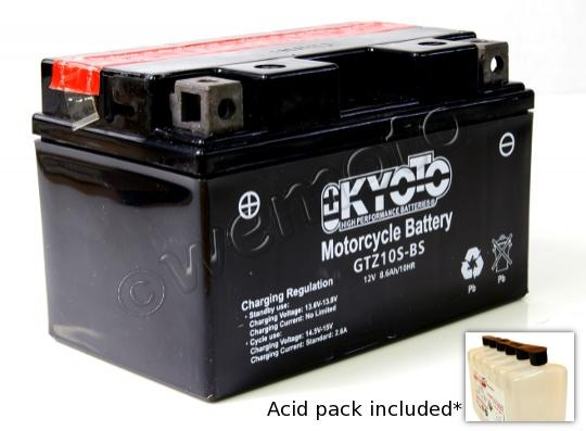 Picture of Honda NV 400 DCY/DC1 (NC40 Type J/2J) Shadow Slasher 00-01 Battery Kyoto