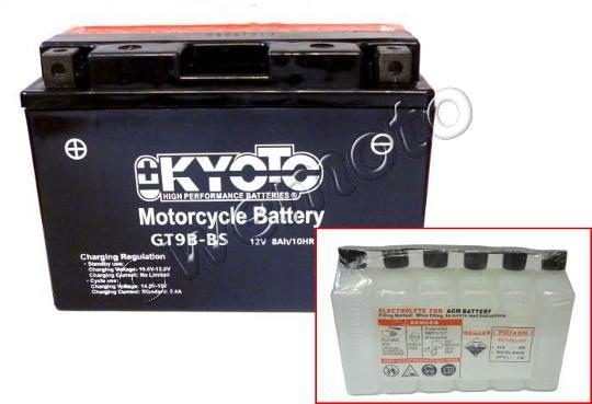 Picture of Yamaha XT 660 X Supermotard 12 Battery Kyoto