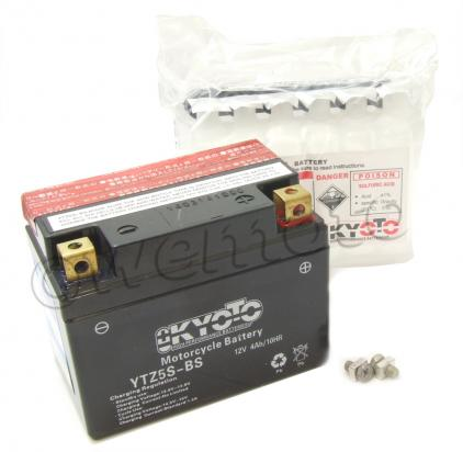 Picture of Battery Kyoto YTZ5S-BS (L 114mm W 71mm H 86mm)