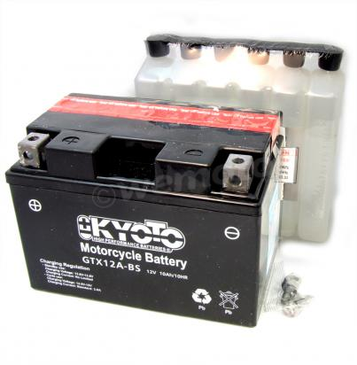 Honda Xl 650 V5v6 Transalp 05 07 Battery Kyoto Parts At Wemoto