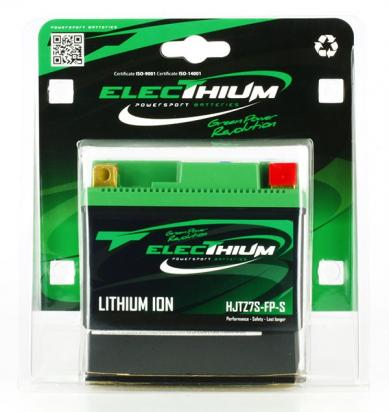 Picture of Kawasaki KLX 450 R AGF 16 Lithium Ion Battery By Electhium