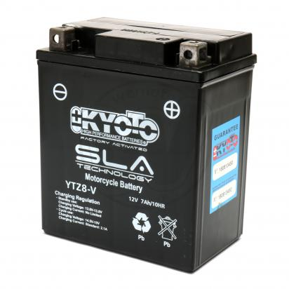 Battery Kyoto YTZ8-V SLA AGM Maintenance Free Factory Activated