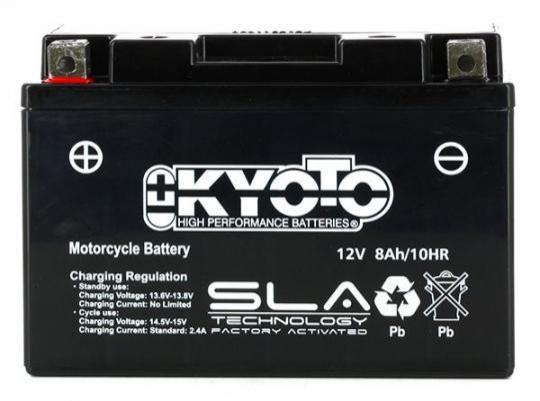 Picture of Yamaha XT 660 X Supermotard 12 Battery Kyoto SLA AGM Maintenance Free