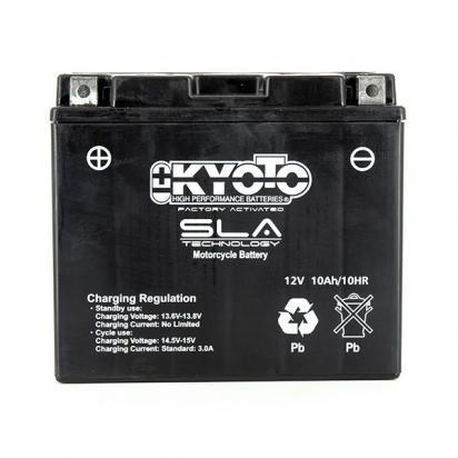 Picture of Battery Kyoto KT12B-BS SLA AGM Maintenance Free Factory Activated