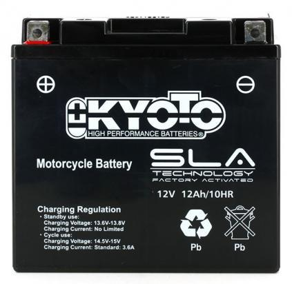 Picture of Battery Kyoto KT14B-BS SLA AGM Maintenance Free Factory Activated
