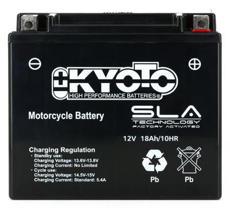 Picture of Battery Kyoto KTX20L-BS SLA AGM Maintenance Free Factory Activated