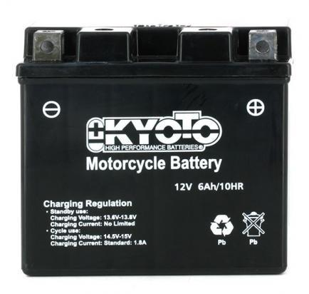 Picture of Battery Kyoto KT6B-3 SLA AGM Maintenance Free Factory Activated