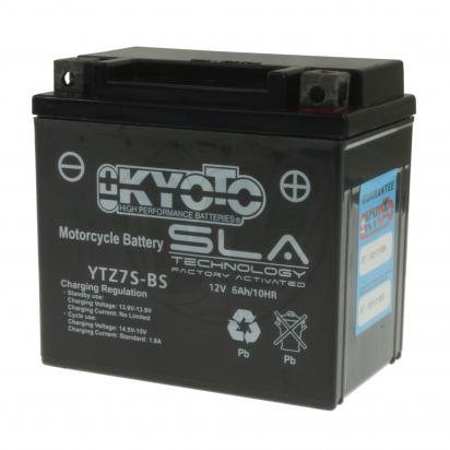 Picture of Yamaha XC 115 Delight 13-14 Battery Pattern Gel - Maintenance Free