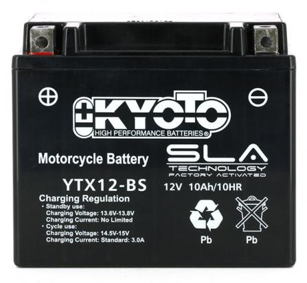 Picture of Daelim S3 125 13 Battery Kyoto SLA AGM Maintenance Free