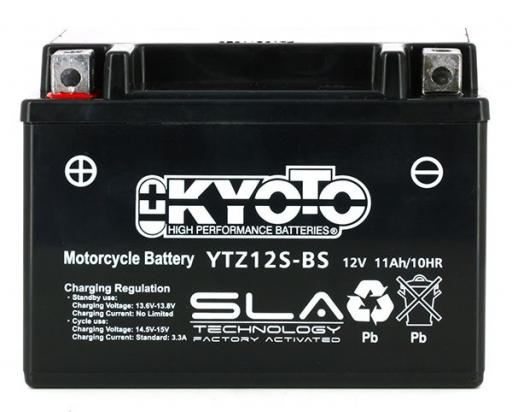 Picture of Battery Kyoto YTZ12S SLA AGM Maintenance Free Factory Activated