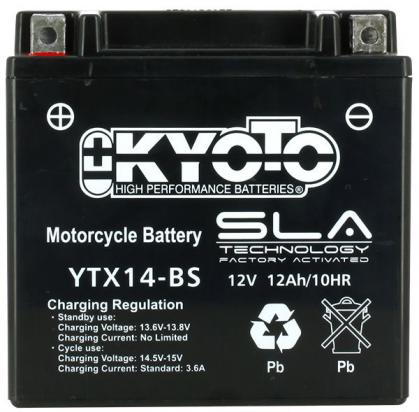 Picture of Battery Kyoto YTX14-BS SLA AGM Maintenance Free Factory Activated