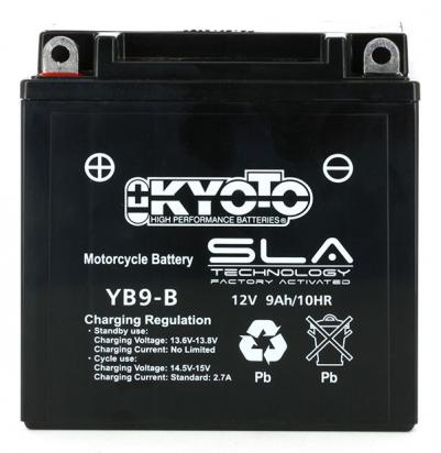 Picture of Italjet Formula 125 LC 97 Battery Kyoto SLA AGM Maintenance Free