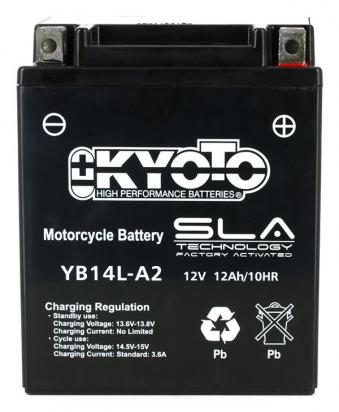 Picture of Kawasaki KLR 600 A1 (KL600) 84 Battery Kyoto SLA AGM Maintenance Free