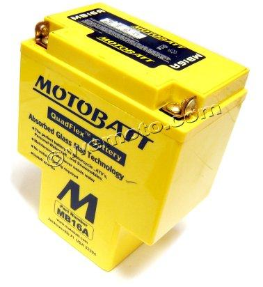 Picture of Battery Motobatt MB16A (Maintenance Free) Sealed