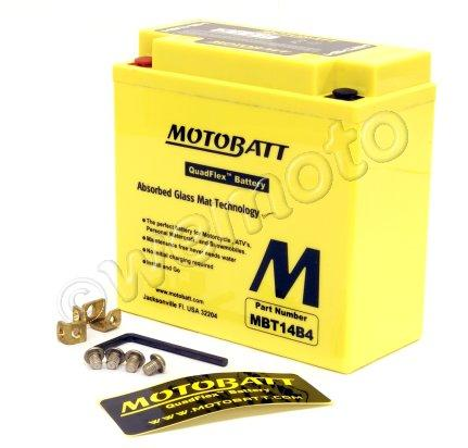 Battery Motobatt MBT14B4 (Maintenance Free) Sealed