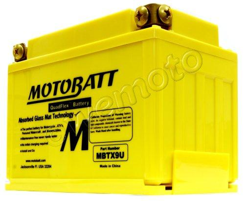 Picture of Suzuki GSF 400 M/N Bandit GK75A (Twin Front Disc) 91-92 Battery Motobatt Sealed High Torque