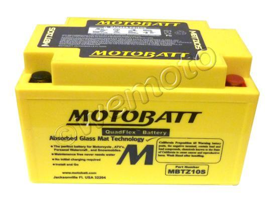 Picture of Mondial HPS 125  17 Battery Motobatt Sealed High Torque