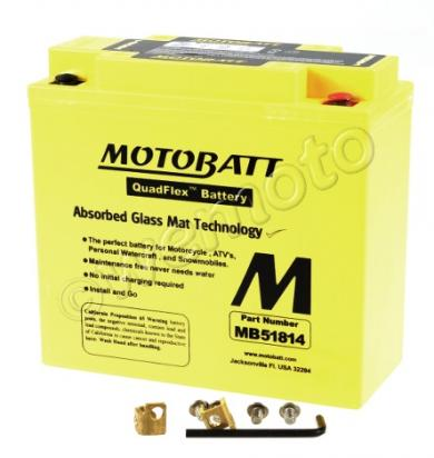 Picture of Battery Motobatt MB51814 (Maintenance Free) Sealed