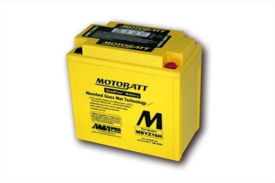Picture of Battery Motobatt MBYZ16H CTX14-BS,CTX14L-BS,GYZ16H (Maintenance Free) Sealed