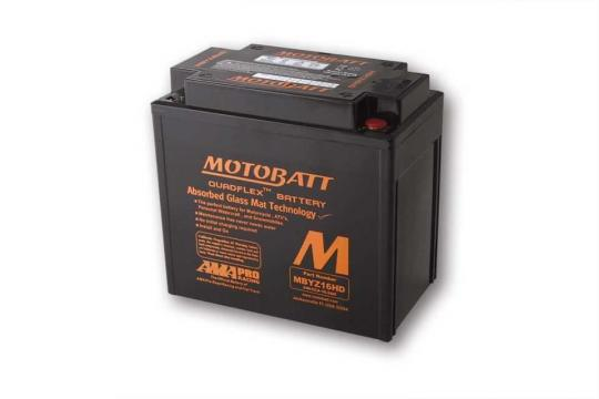 Picture of Battery Motobatt MBYZ16HD CTX14-BS,CTX14L-BS,GYZ16H - Black (Maintenance Free) Sealed