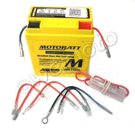 Battery Motobatt MBT6N6 (Maintenance Free) Sealed
