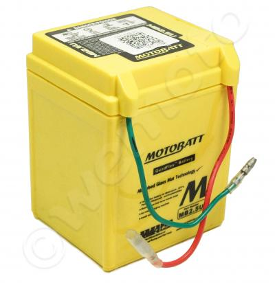 Battery Motobatt MB2.5U (Maintenance Free) Sealed