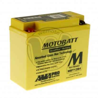Picture of Battery Motobatt MBT12B4 (Maintenance Free) Sealed
