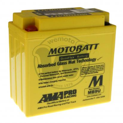 Picture of Battery Motobatt MB9U (Maintenance Free) Sealed
