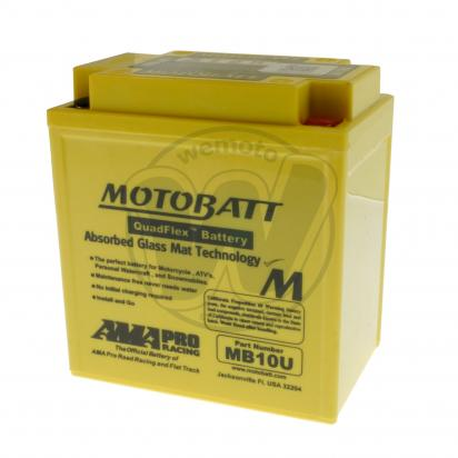 Picture of Battery Motobatt MB10U (Maintenance Free) Sealed