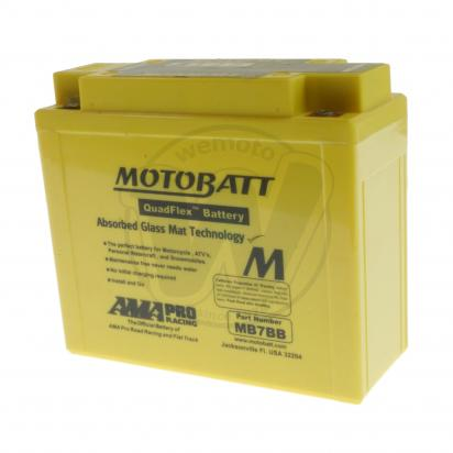 Picture of Battery Motobatt MB7BB (Maintenance Free) Sealed