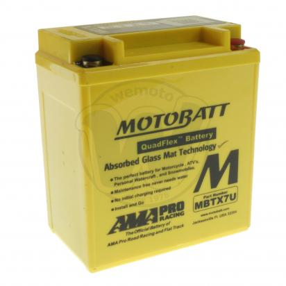 Picture of Honda NJ 50 M/D (TD01) Gyro-X 02 Battery Motobatt Sealed High Torque